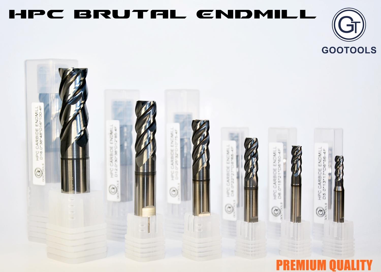 HPC BRUTAL ENDMILL NYAKALT
